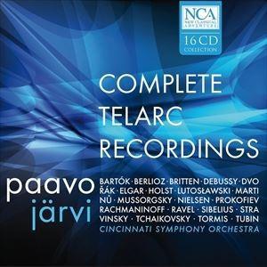 輸入盤 PAAVO JARVI / TELARC COMP RECORDINGS [16CD]|dss