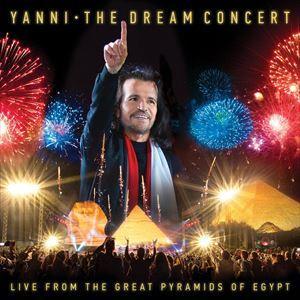 輸入盤 YANNI / DREAM CONCERT : LIVE FROM THE GREAT PYRAMIDS OF EGYPT [CD+DVD]