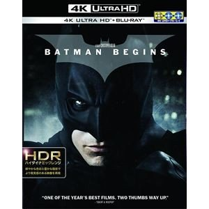 バットマン ビギンズ<4K ULTRA HD&ブルーレイセット> [Ultra HD Blu-ray]|dss