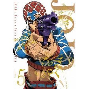 ジョジョの奇妙な冒険 黄金の風 Vol.5<初回仕様版> [DVD]|dss