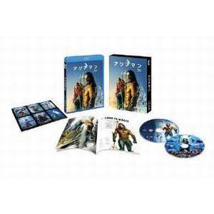 アクアマン 3D&2Dブルーレイセット(初回限定生産) [Blu-ray]|dss