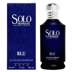 ルチアーノソプラーニ ソロ ブルー EDT SP (男女兼用香水) 50ml|dss