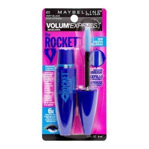 メイベリン ボリューム エクスプレス ロケット WP #411 ベリーブラック (マスカラ) 9ml|dss