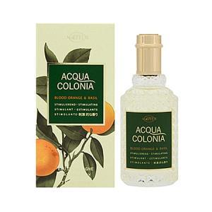 4711 アクアコロニア ブラッド オレンジ&バジル EDC (男女兼用香水) 50ml|dss