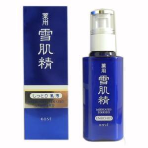 【医薬部外品】コーセー 薬用 雪肌精 乳液 エンリッチ (乳液) 140ml|dss