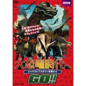 大恐竜時代へGO!! トリケラトプスのツノを探そう [DVD] dss