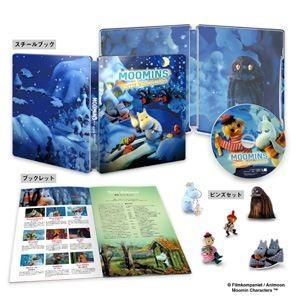 ムーミン谷とウィンターワンダーランド 豪華版Blu-ray【初回生産限定】 [Blu-ray]|dss