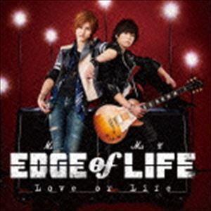 種別:CD EDGE of LIFE 解説:萩尾圭志(Vo)と今村将也(G)によるロック・ユニット、...