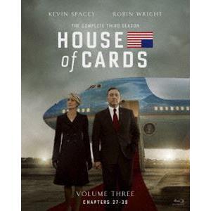 ハウス・オブ・カード 野望の階段 SEASON3 Blu-ray Complete Package(デヴィッド・フィンチャー完全監修パッケージ仕様) [Blu-ray]|dss