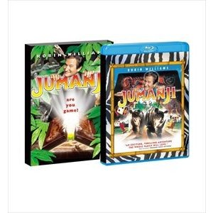 吹替洋画劇場『ジュマンジ』製作20周年 デラックス エディション【初回生産限定】 [Blu-ray]|dss