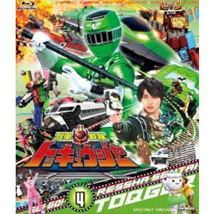 スーパー戦隊シリーズ 烈車戦隊トッキュウジャー VOL.4 [Blu-ray]|dss