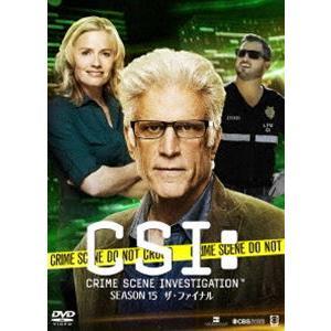CSI:科学捜査班 シーズン15 ザ・ファイナル コンプリートDVD BOX-1 [DVD]|dss