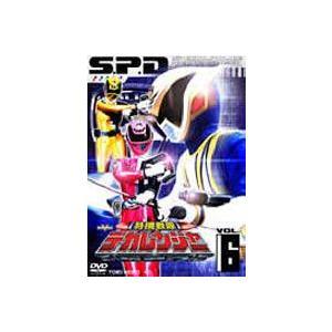特捜戦隊デカレンジャー VOL.6 [DVD]|dss