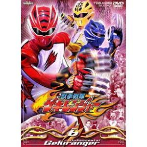 獣拳戦隊ゲキレンジャー VOL.6 [DVD] dss