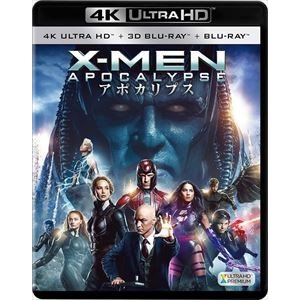 X-MEN:アポカリプス<4K ULTRA HD+3D+2Dブルーレイ> [Ultra HD Blu-ray]|dss