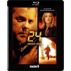 24-TWENTY FOUR- シーズン5<SEASONSブルーレイ・ボックス> [Blu-ray]|dss