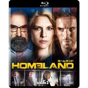 HOMELAND/ホームランド シーズン3<SEASONSブルーレイ・ボックス> [Blu-ray]|dss