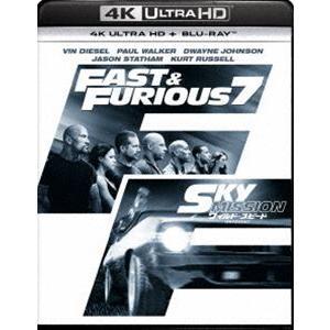 ワイルド・スピード SKY MISSION[4K ULTRA HD+Blu-rayセット] [Ultra HD Blu-ray]|dss