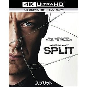 スプリット[4K ULTRA HD + Blu-rayセット] [Ultra HD Blu-ray]|dss