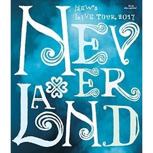 NEWS LIVE TOUR 2017 NEVERLAND【Blu-ray】(通常盤) [Blu-ray]|dss