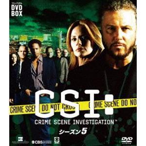 CSI:科学捜査班 コンパクト DVD-BOX シーズン5 [DVD]|dss