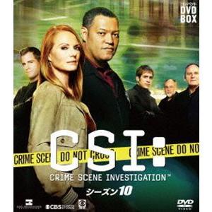 CSI:科学捜査班 コンパクト DVD-BOX シーズン10 [DVD]|dss