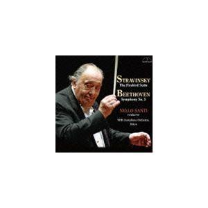ネッロ・サンティ NHK交響楽団 / ストラヴィンスキー:バレエ組曲 火の鳥 ベートヴェン:交響曲 第5番 運命 [CD]|dss