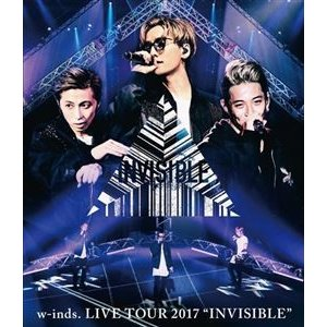 """w-inds. LIVE TOUR 2017""""INVISIBLE""""Blu-ray(通常盤) [Blu-ray]