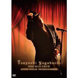 長渕剛/Tsuyoshi Nagabuchi ONE MAN SHOW(通常盤)(DVD)