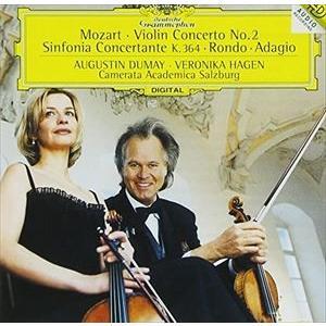 デュメイ、ハーゲン、ザルツブルク・カメラータ・アカデミカ / モーツァルト:協奏交響曲K.364、ヴァイオリン協奏曲 第2番 他 [CD]|dss