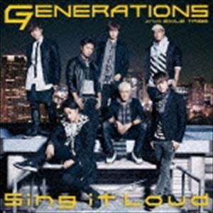 GENERATIONS from EXILE TRIBE / Sing it Loud(CD+DVD) [CD]|dss