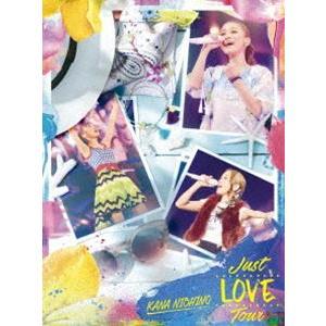 西野カナ/Just LOVE Tour(初回生産限定盤) [DVD]|dss