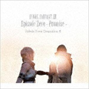 (ドラマCD) FINAL FANTASY XIII Episode Zero -Promise- Fabula Nova Dramatica A [CD] dss