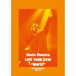 "清水翔太/LIVE TOUR 2018""WHITE"" [DVD]