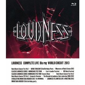 LOUDNESS/LOUDNESS COMPLETE LIVE Blu-ray WORLD CIRCUIT 2013 [Blu-ray]|dss