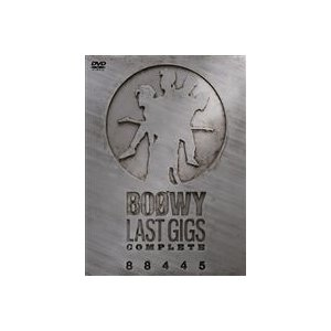 BOOWY/LAST GIGS COMPLETE 88445 [DVD]|dss