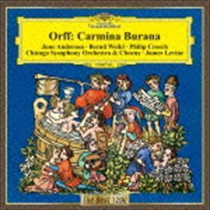 クラシック / Orff オルフ / カルミナ・ブラーナ レヴァイン&シカゴ響、アンダーソン、ヴァイクル、クリーチCDの商品画像|ナビ