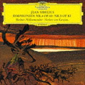 ヘルベルト・フォン・カラヤン(cond) / シベリウス:交響曲第4番・第5番(初回限定盤/UHQCD) [CD]|dss