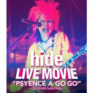 """hide/LIVE MOVIE""""PSYENCE A GO GO""""〜20YEARS from 1996〜 [Blu-ray] dss"""
