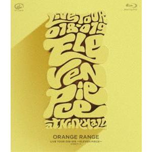 ORANGE RANGE/LIVE TOUR 018-019 〜ELEVEN PIECE〜 at NHKホール [Blu-ray]|dss