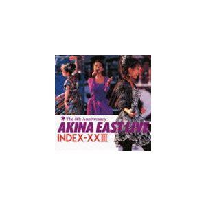 中森明菜 / ゴールデン☆ベスト 中森明菜 AKINA EAST LIVE INDEX-XXIII [CD]|dss