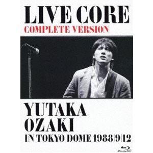 尾崎豊/LIVE CORE 完全版 〜 YUTAKA OZAKI IN TOKYO DOME 1988・9・12<Blu-ray> [Blu-ray]|dss