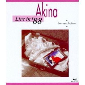 中森明菜/Live in '88・Femme Fatale<5.1 version> [Blu-ray] dss