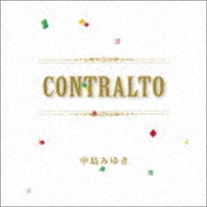 中島みゆき / CONTRALTO (初回仕様) [CD]|dss