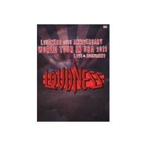 LOUDNESS 30th ANNIVERSARY WORLD TOUR IN USA 2011 LIVE & DOCUMENT [DVD] dss