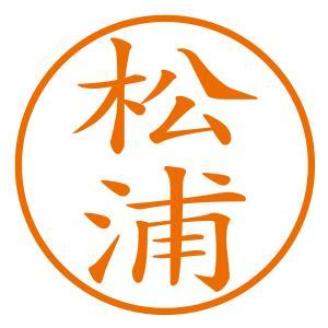 ブラザーネーム印(縦)シャチハタ式