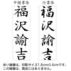 慶弔印おなまえブラザースタンプ のし袋用スタンプ  18mmx56mm シャチハタ式