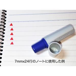 ▲三角マーク(中塗りあり)スタンプ シャチハタ式 ブラザー訂正印