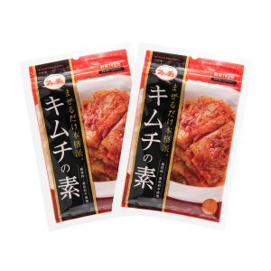 送料無料 [ファーチェ] キムチの素 116g×2袋/ 花菜 韓国食品 切ってまぜるだけ 花菜 韓国料理 白菜キムチの画像