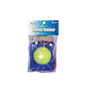 LEZAX(レザックス) VSTN-5791 Vigors 硬式テニストレーナー (台/青 ボール/黄)|dstyleshop